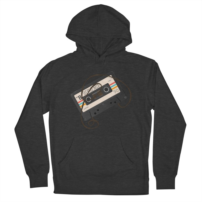 Techno mixtape  Men's Pullover Hoody by Strictly Underground Music's Shop