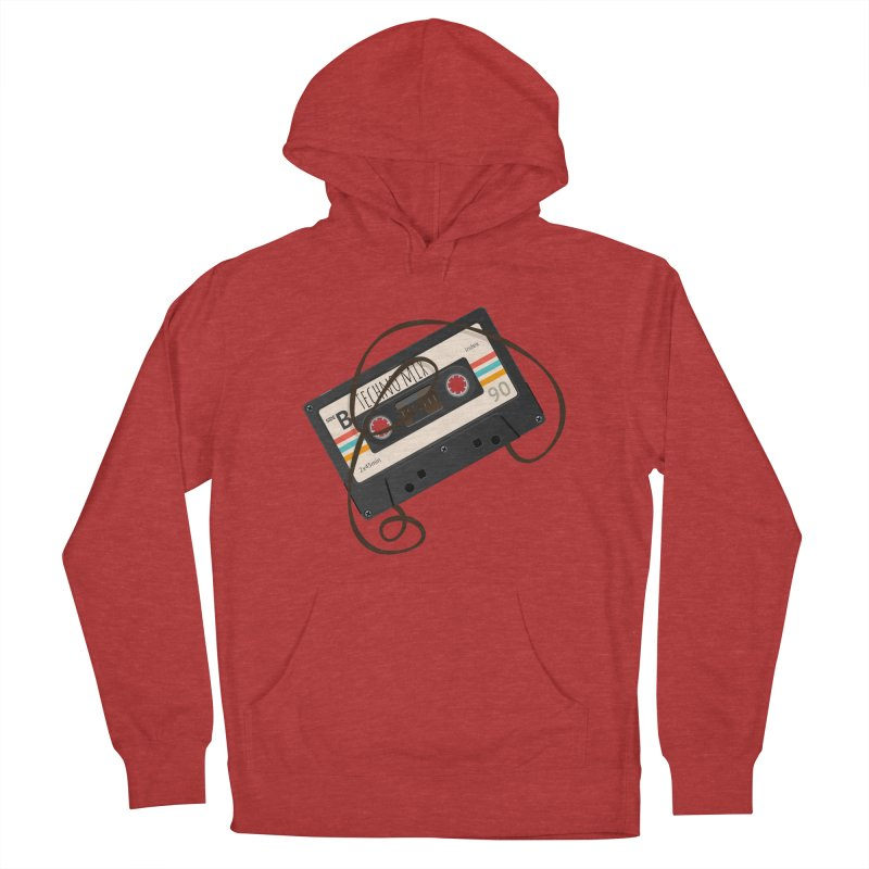Techno mixtape  Men's French Terry Pullover Hoody by Strictly Underground Music's Shop