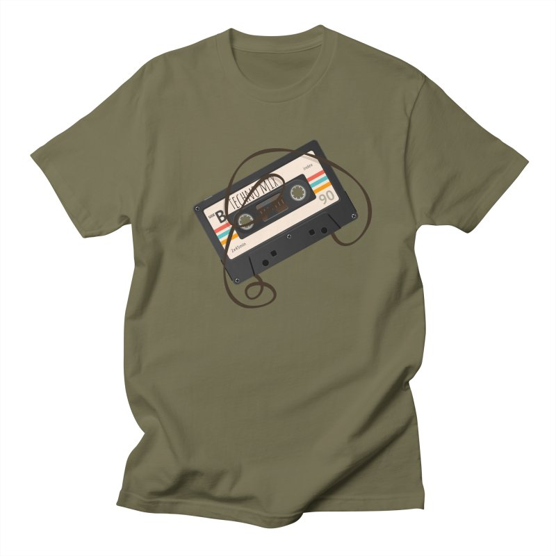 Techno mixtape  Men's T-shirt by Strictly Underground Music's Shop