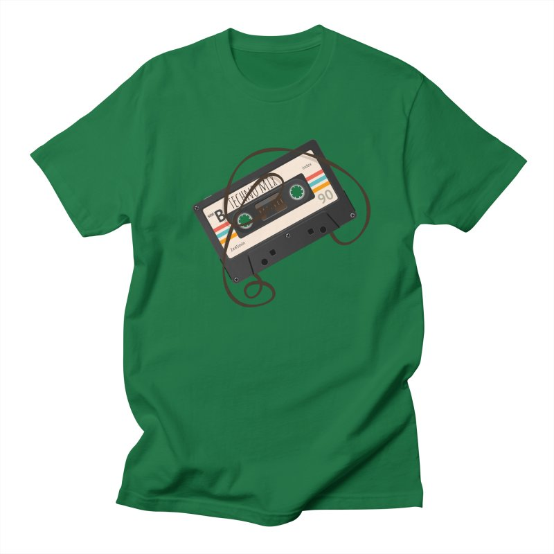 Techno mixtape  Men's Regular T-Shirt by Strictly Underground Music's Shop