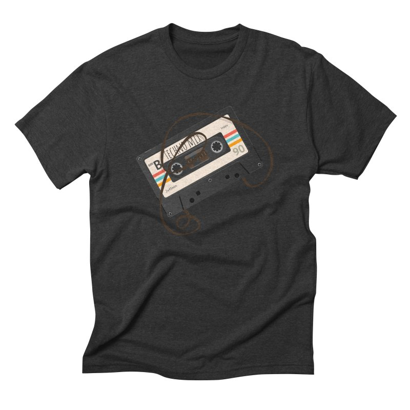 Techno mixtape  Men's Triblend T-Shirt by Strictly Underground Music's Shop