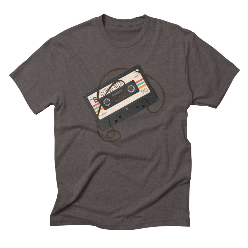 Techno mixtape  Men's Triblend T-Shirt by Strictly Underground Music's Shop
