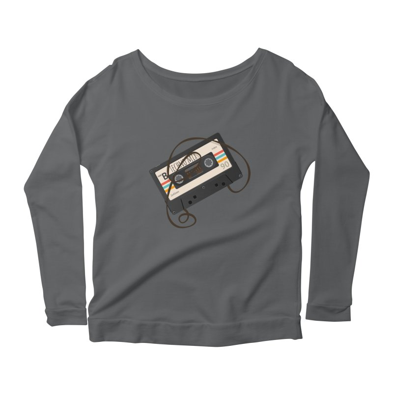 Techno mixtape  Women's Longsleeve T-Shirt by Strictly Underground Music's Shop