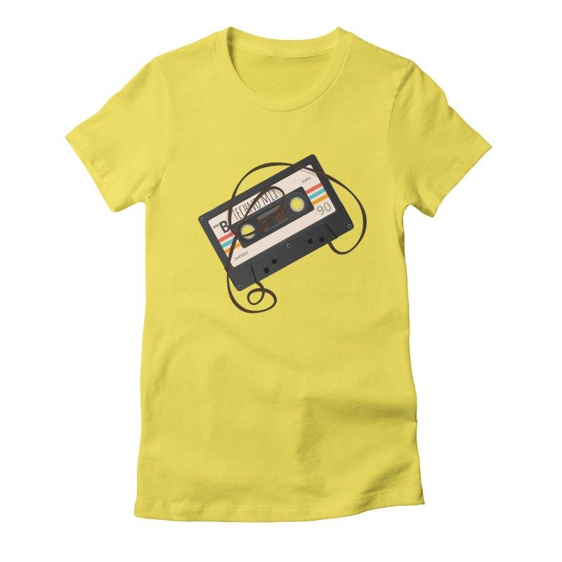 Techno mixtape  Women's T-Shirt by Strictly Underground Music's Shop