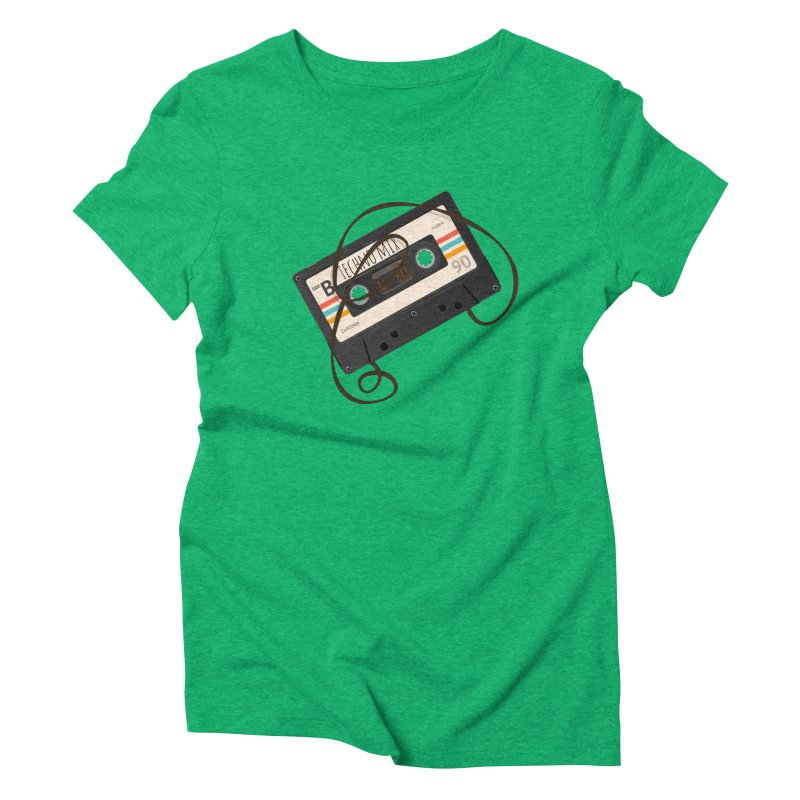 Techno mixtape  Women's Triblend T-Shirt by Strictly Underground Music's Shop