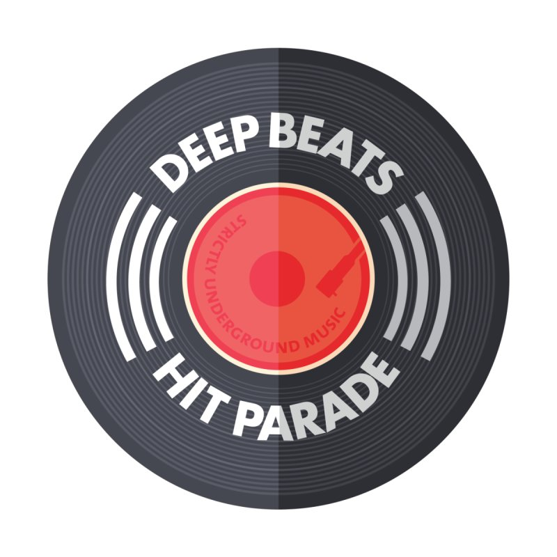 Deep Beats Hit Parade Men's T-Shirt by Strictly Underground Music's Shop