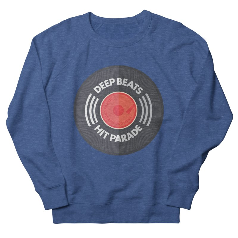 Deep Beats Hit Parade Men's Sweatshirt by Strictly Underground Music's Shop