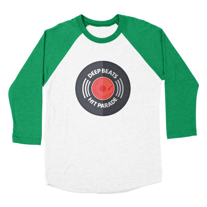 Deep Beats Hit Parade Men's Baseball Triblend Longsleeve T-Shirt by Strictly Underground Music's Shop