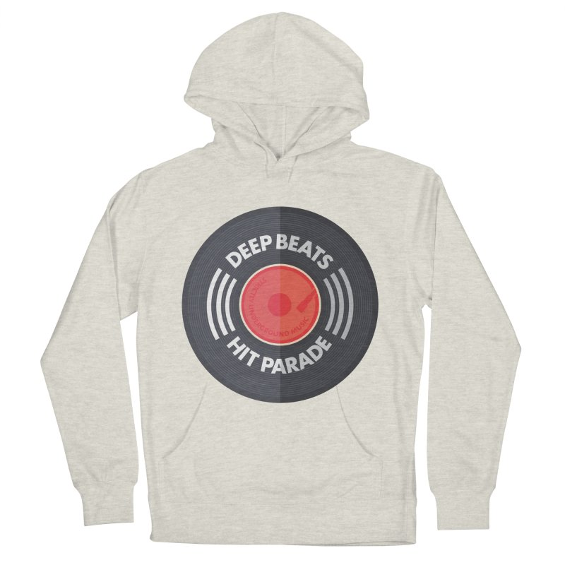 Deep Beats Hit Parade Women's French Terry Pullover Hoody by Strictly Underground Music's Shop