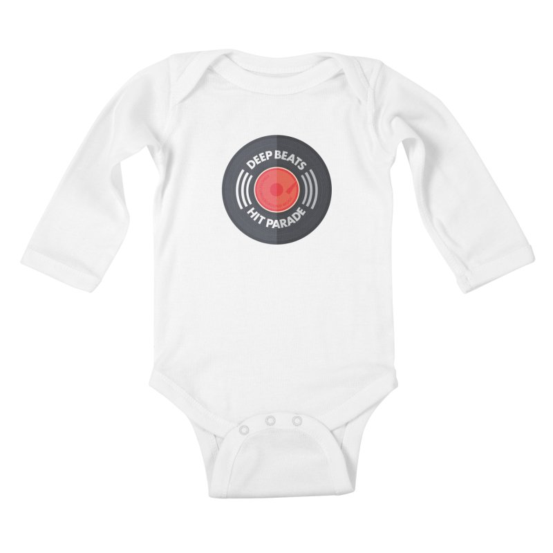 Deep Beats Hit Parade Kids Baby Longsleeve Bodysuit by Strictly Underground Music's Shop
