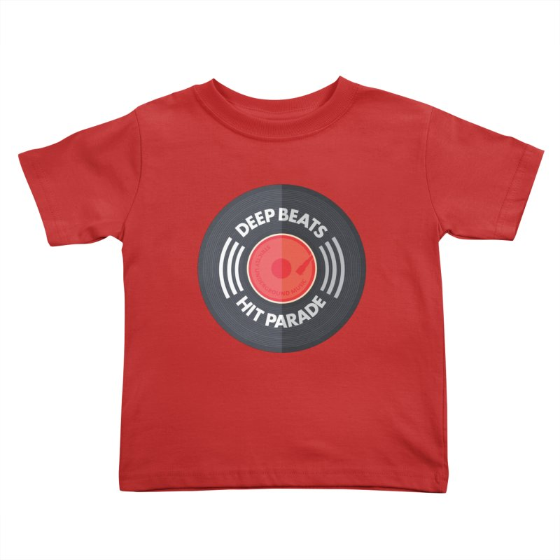 Deep Beats Hit Parade Kids Toddler T-Shirt by Strictly Underground Music's Shop