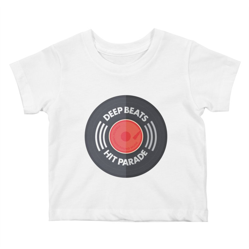 Deep Beats Hit Parade Kids Baby T-Shirt by Strictly Underground Music's Shop