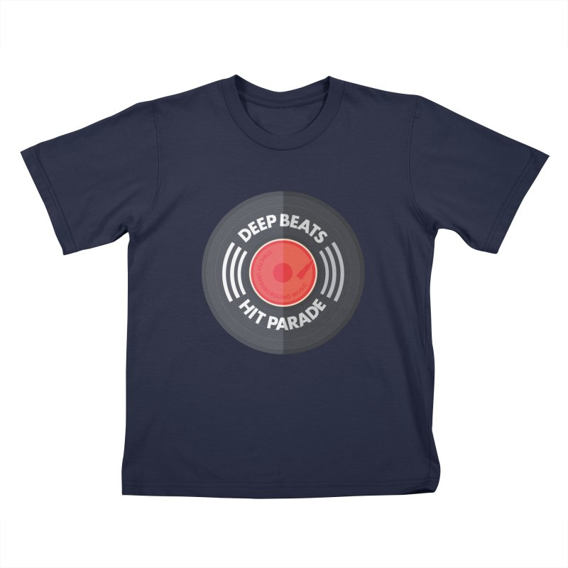 Deep Beats Hit Parade Kids T-Shirt by Strictly Underground Music's Shop