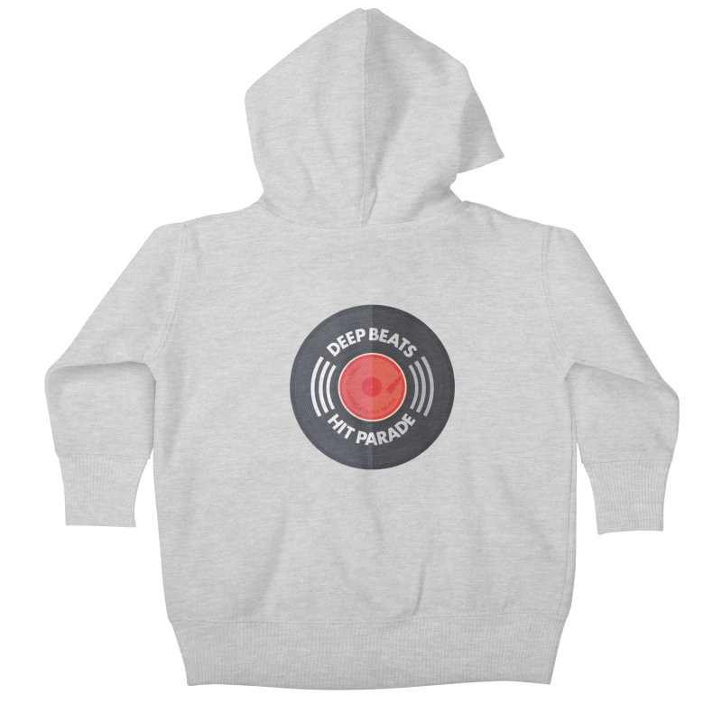 Deep Beats Hit Parade Kids Baby Zip-Up Hoody by Strictly Underground Music's Shop