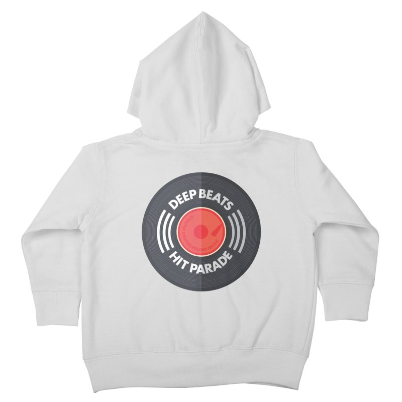 Deep Beats Hit Parade Kids Toddler Zip-Up Hoody by Strictly Underground Music's Shop