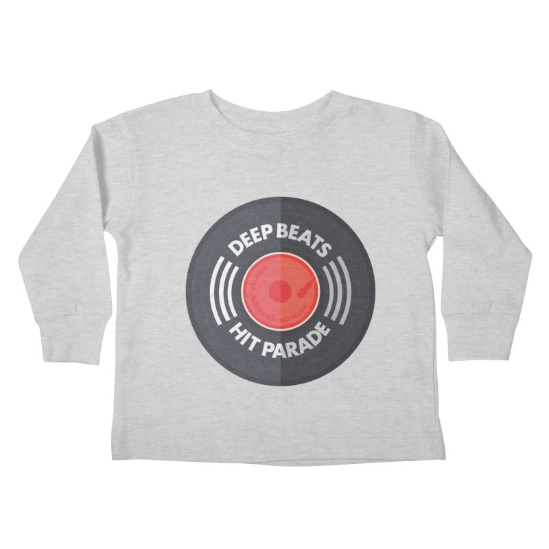 Deep Beats Hit Parade Kids Toddler Longsleeve T-Shirt by Strictly Underground Music's Shop