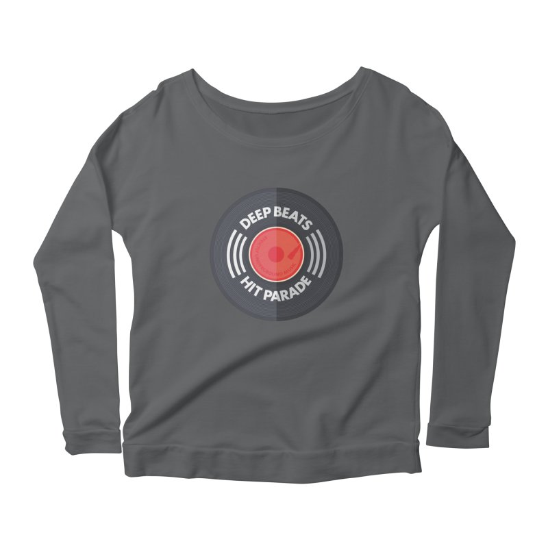 Deep Beats Hit Parade Women's Longsleeve T-Shirt by Strictly Underground Music's Shop