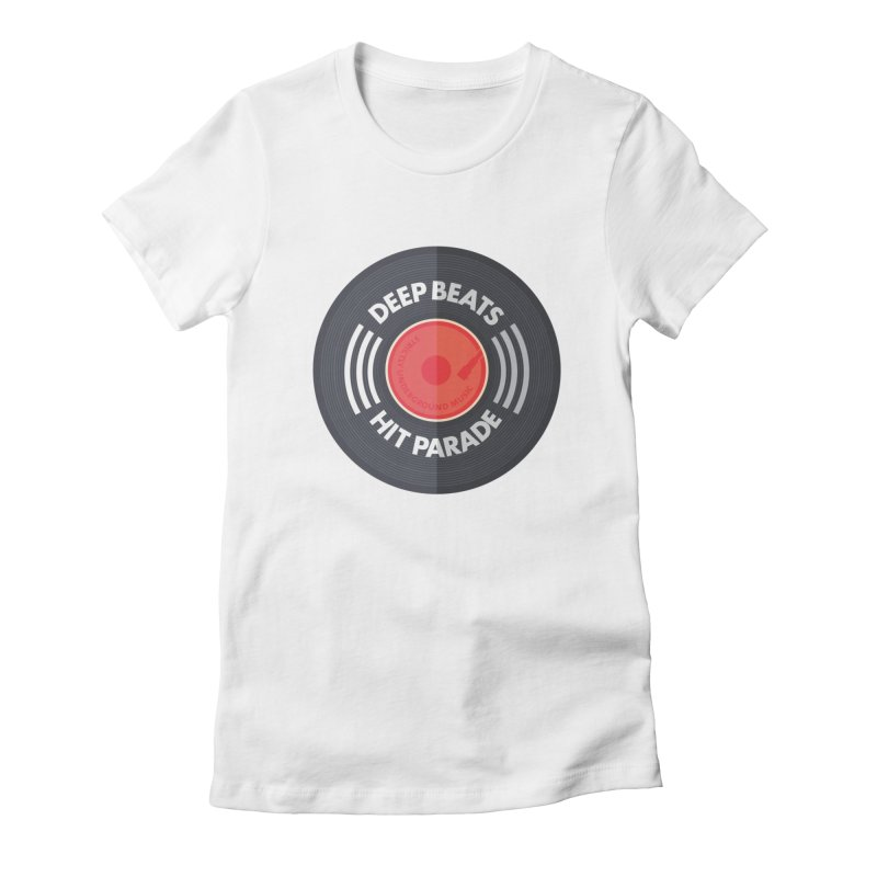 Deep Beats Hit Parade Women's T-Shirt by Strictly Underground Music's Shop