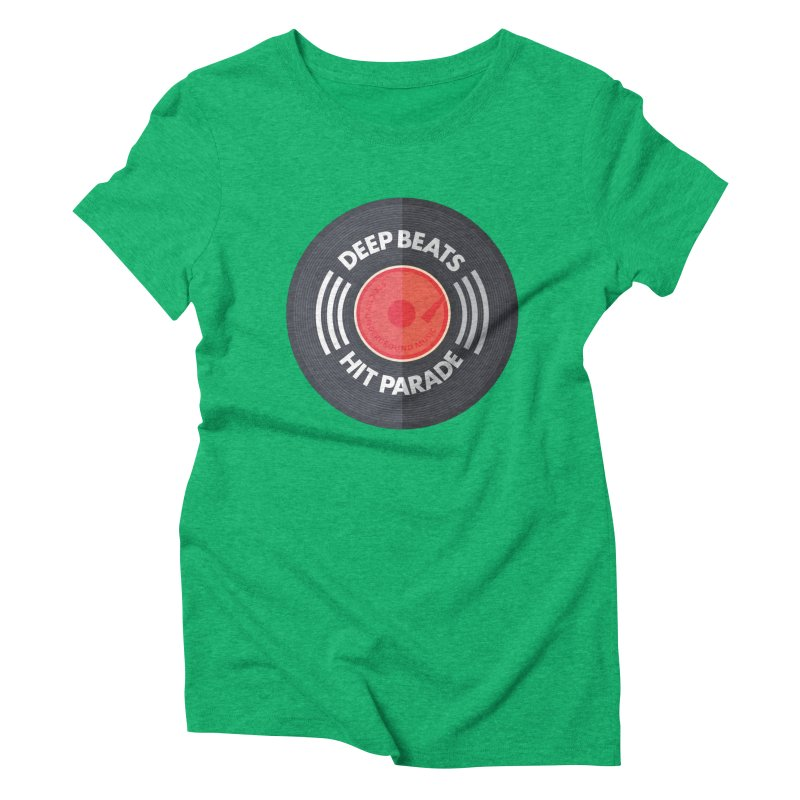 Deep Beats Hit Parade Women's Triblend T-Shirt by Strictly Underground Music's Shop