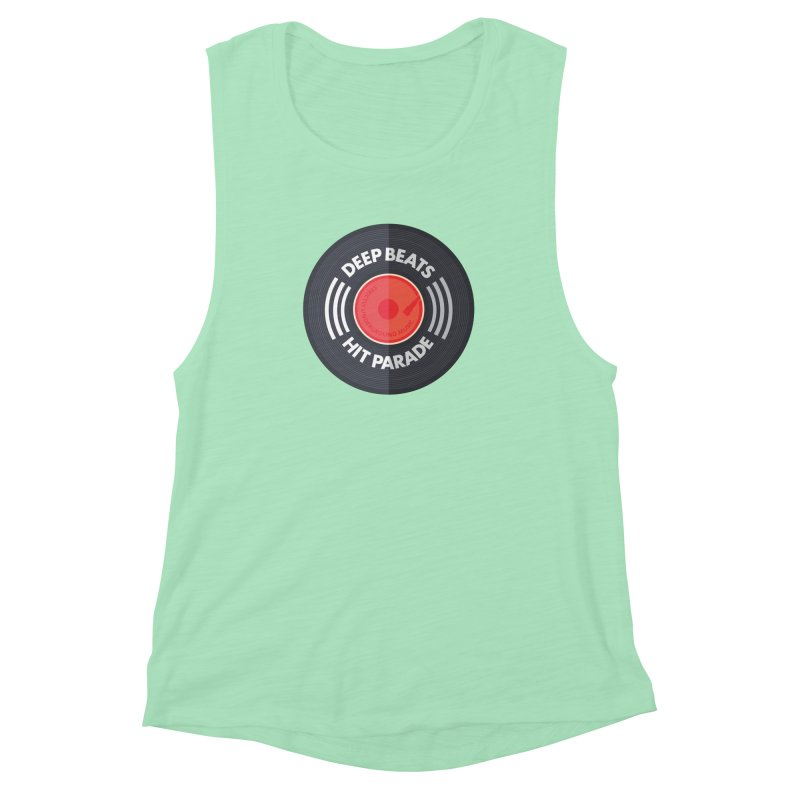 Deep Beats Hit Parade Women's Muscle Tank by Strictly Underground Music's Shop