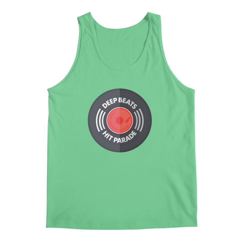 Deep Beats Hit Parade Men's Regular Tank by Strictly Underground Music's Shop