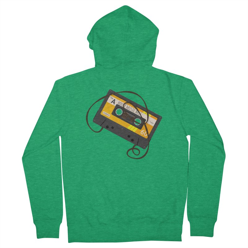 House music mixtape side A Women's Zip-Up Hoody by Strictly Underground Music's Shop