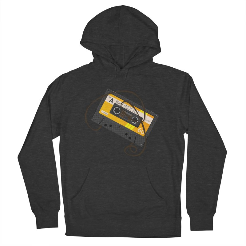 House music mixtape side A Men's French Terry Pullover Hoody by Strictly Underground Music's Shop