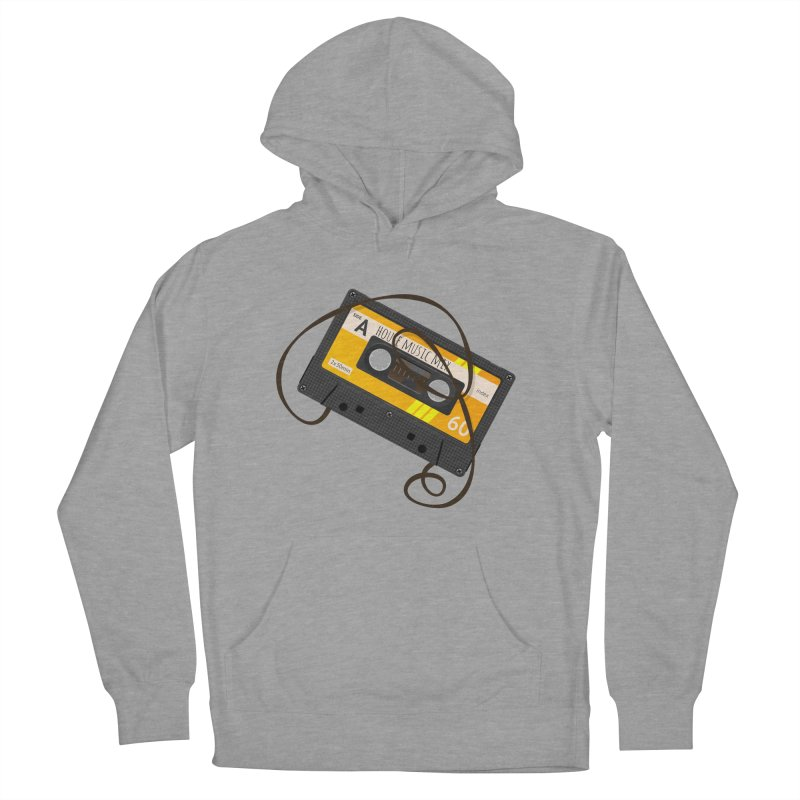 House music mixtape side A Men's Pullover Hoody by Strictly Underground Music's Shop
