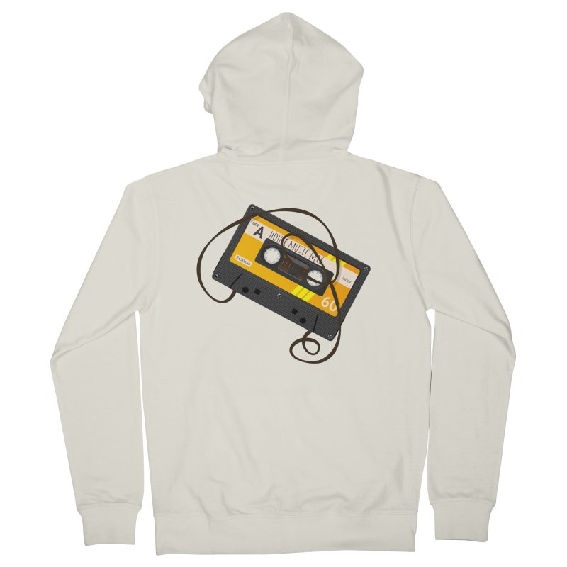 House music mixtape side A Women's French Terry Zip-Up Hoody by Strictly Underground Music's Shop