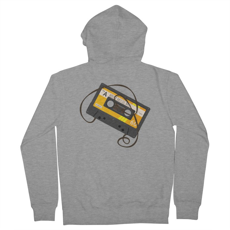 House music mixtape side A Men's Zip-Up Hoody by Strictly Underground Music's Shop