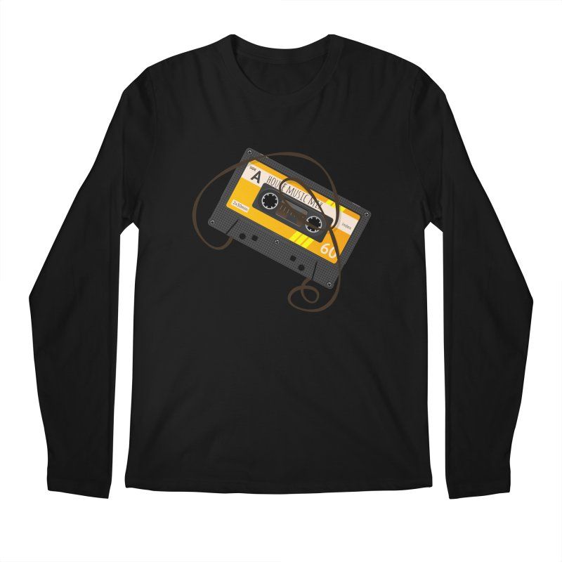House music mixtape side A Men's Regular Longsleeve T-Shirt by Strictly Underground Music's Shop