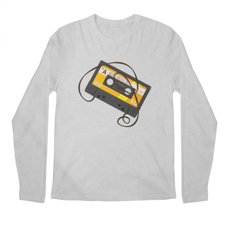 House music mixtape side A Men's Longsleeve T-Shirt by Strictly Underground Music's Shop