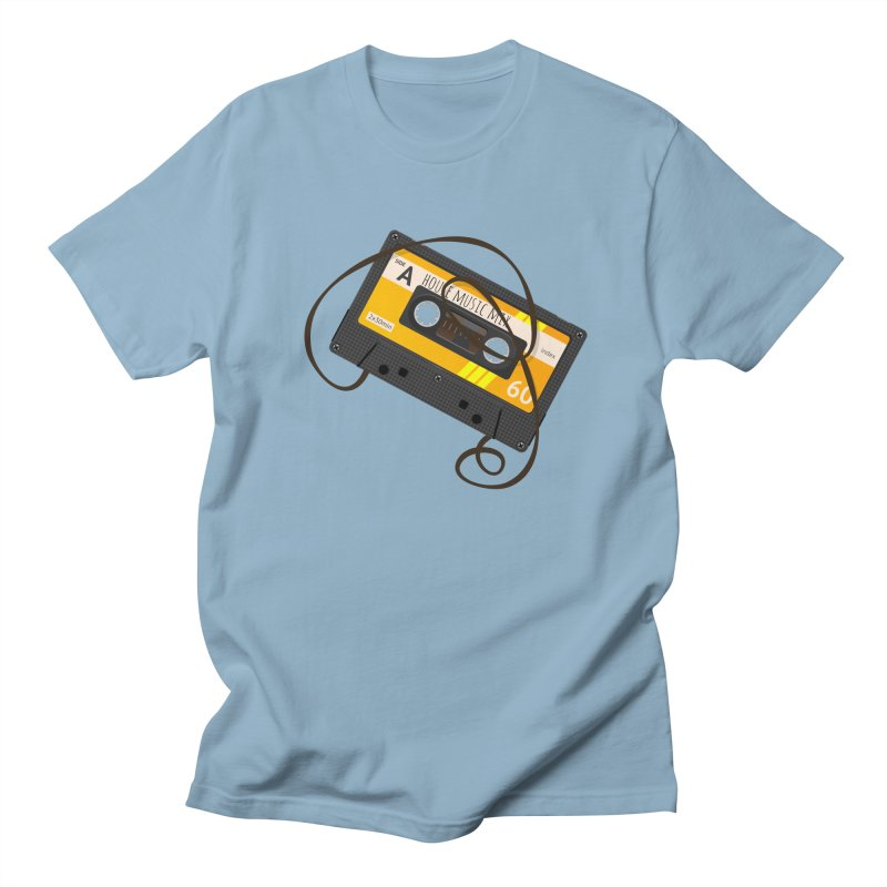 House music mixtape side A Men's Regular T-Shirt by Strictly Underground Music's Shop