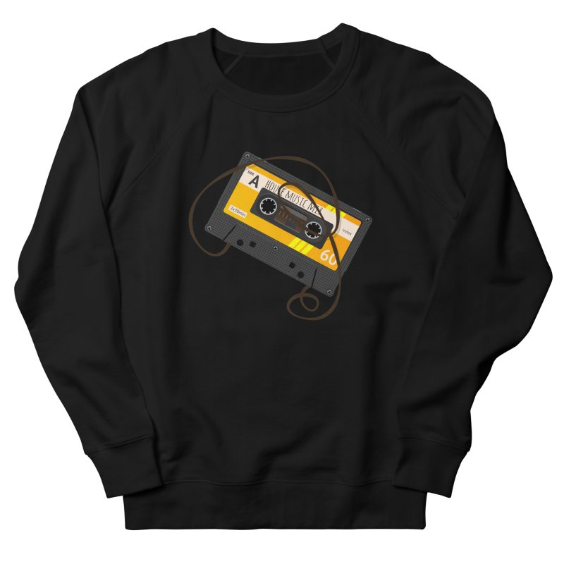 House music mixtape side A Men's French Terry Sweatshirt by Strictly Underground Music's Shop