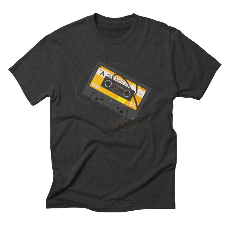 House music mixtape side A Men's Triblend T-Shirt by Strictly Underground Music's Shop