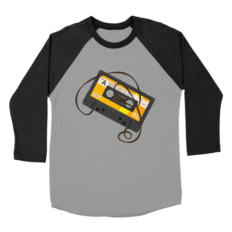 House music mixtape side A Men's Baseball Triblend Longsleeve T-Shirt by Strictly Underground Music's Shop