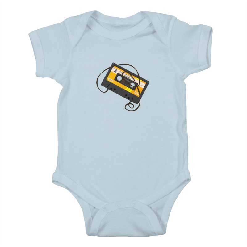 House music mixtape side A Kids Baby Bodysuit by Strictly Underground Music's Shop