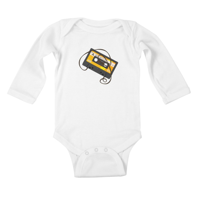 House music mixtape side A Kids Baby Longsleeve Bodysuit by Strictly Underground Music's Shop