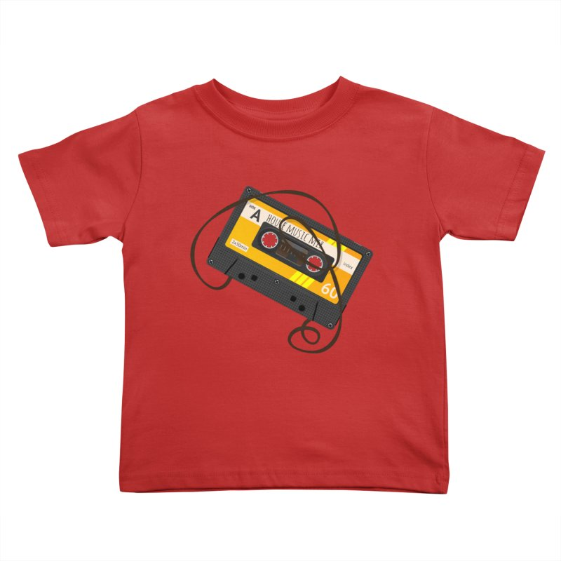 House music mixtape side A Kids Toddler T-Shirt by Strictly Underground Music's Shop