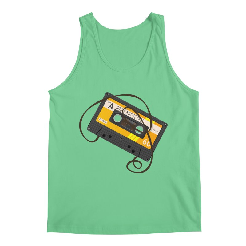 House music mixtape side A Men's Regular Tank by Strictly Underground Music's Shop
