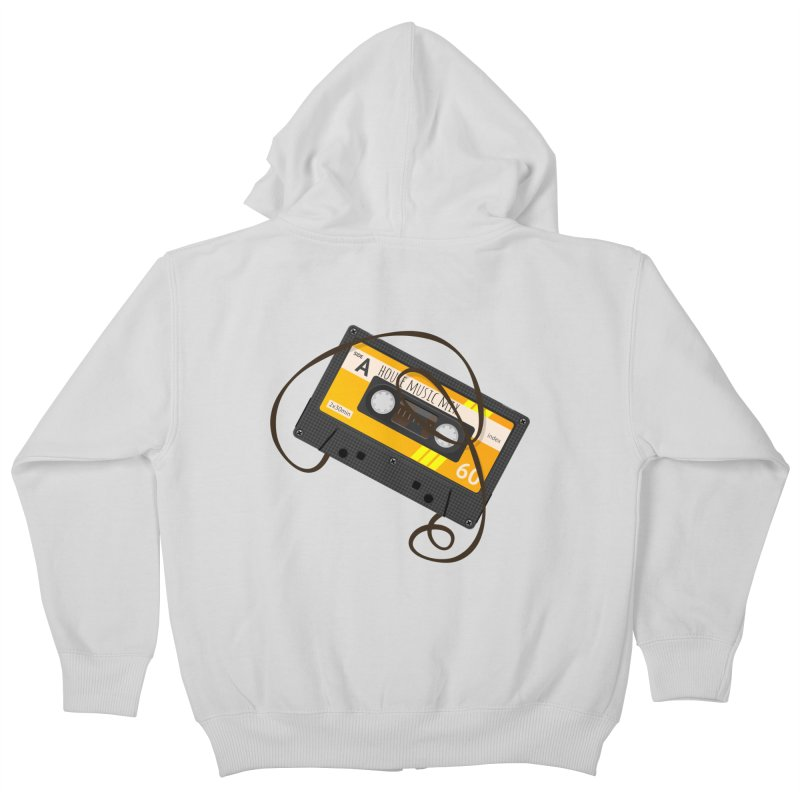 House music mixtape side A Kids Zip-Up Hoody by Strictly Underground Music's Shop