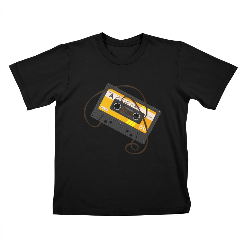 House music mixtape side A Kids T-Shirt by Strictly Underground Music's Shop