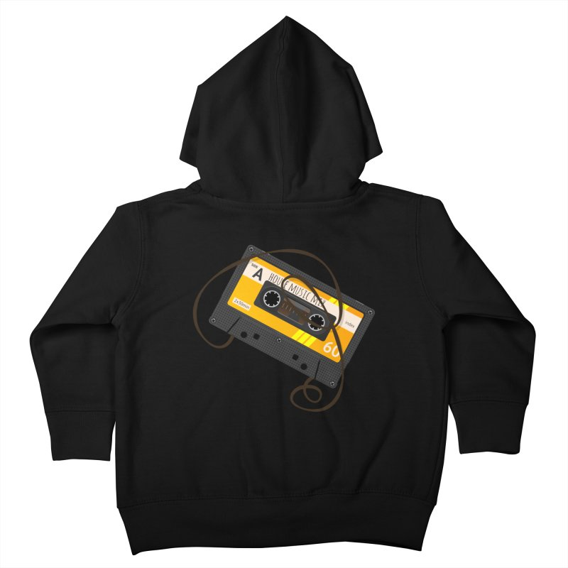 House music mixtape side A Kids Toddler Zip-Up Hoody by Strictly Underground Music's Shop