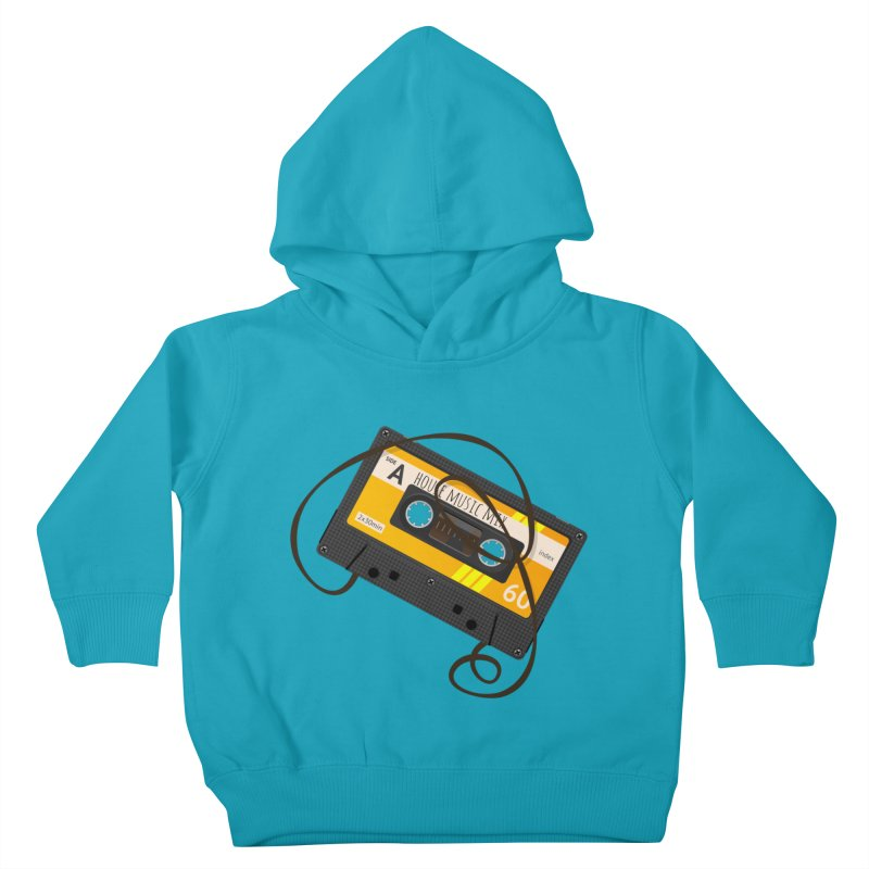 House music mixtape side A Kids Toddler Pullover Hoody by Strictly Underground Music's Shop