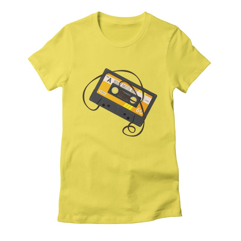House music mixtape side A Women's T-Shirt by Strictly Underground Music's Shop