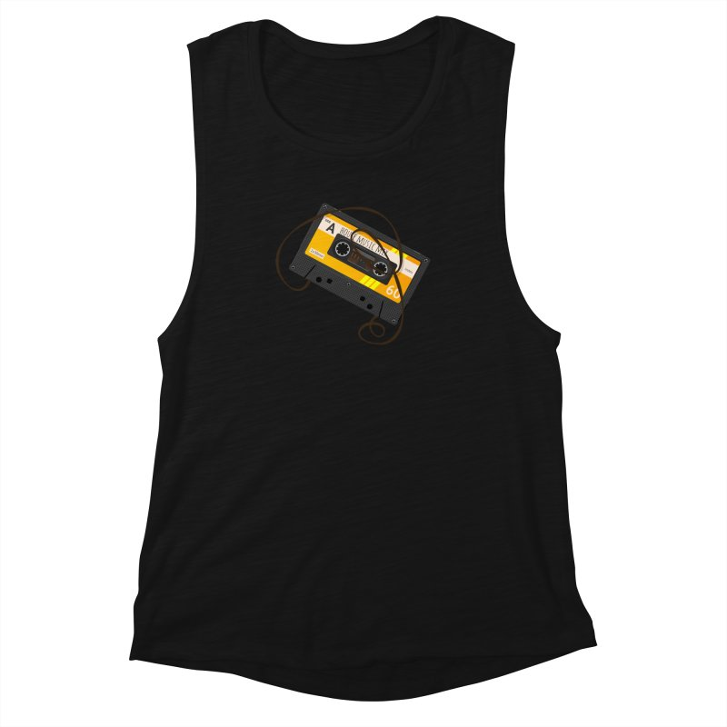 House music mixtape side A Women's Tank by Strictly Underground Music's Shop