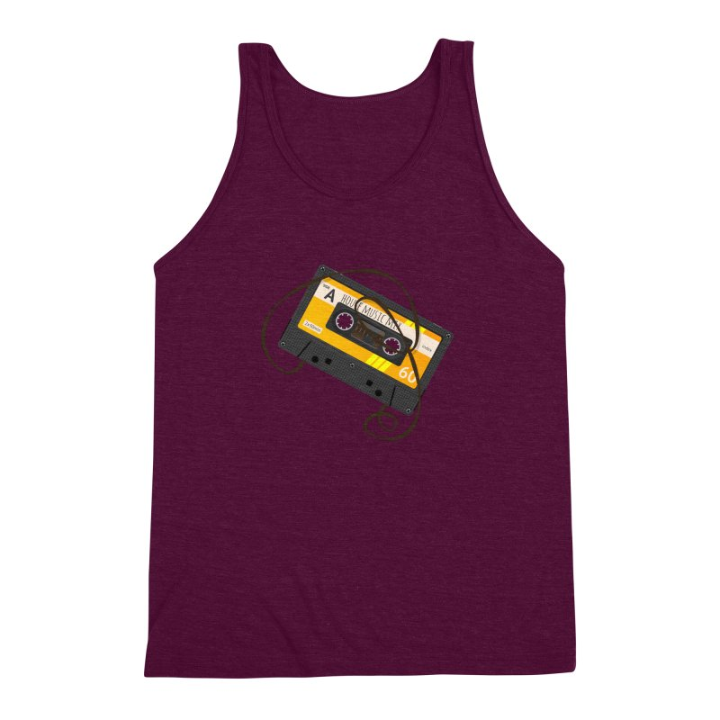 House music mixtape side A Men's Triblend Tank by Strictly Underground Music's Shop