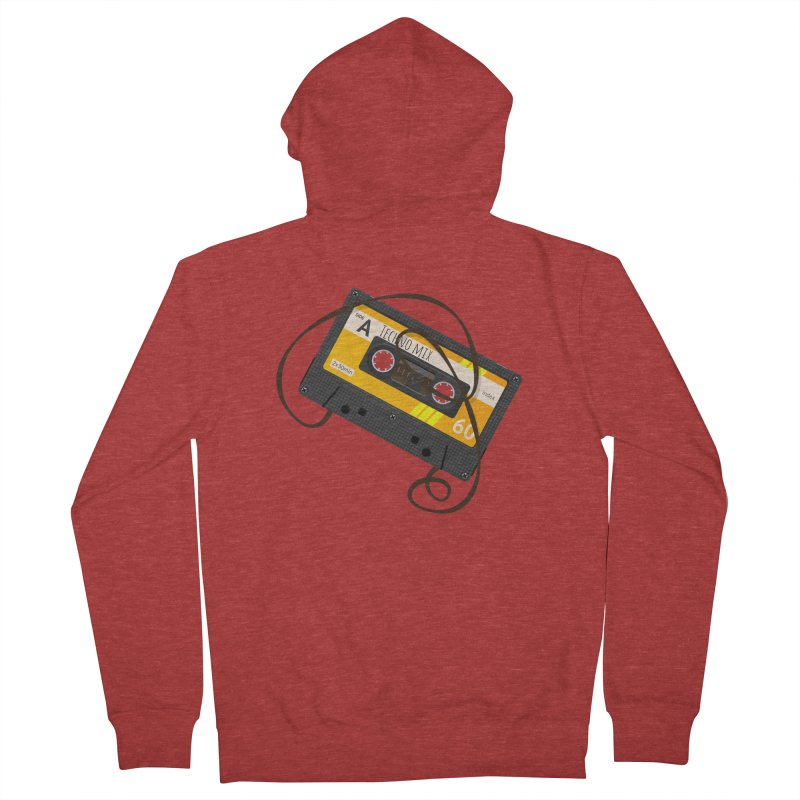 Techno music mixtape side A Women's Zip-Up Hoody by Strictly Underground Music's Shop