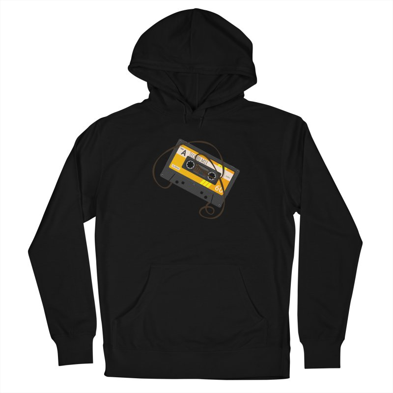 Techno music mixtape side A Women's French Terry Pullover Hoody by Strictly Underground Music's Shop