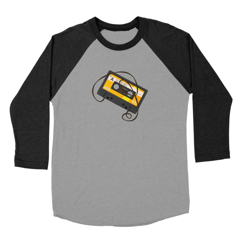 Techno music mixtape side A Women's Baseball Triblend Longsleeve T-Shirt by Strictly Underground Music's Shop